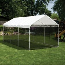 10ft. H x 10ft. W x 20ft. D  Canopy Screen Kit