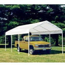 Max AP 10ft. H x 10ft. W x 20ft. D Canopy with Enclosure Kit