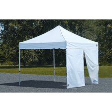Alumi Max 7ft. H x 10ft. W Canopy Wall Kit with Center Zipper