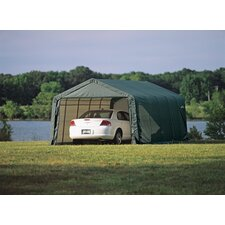 13' Wide Peak Style Shelter