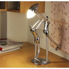 "Sportsmanship Artistic LED 11.8"" H Table Lamp with Bowl Shade"
