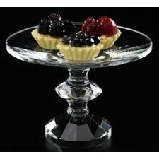 Clear Footed Compote Platter