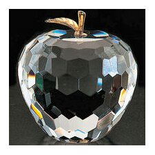 <strong>Badash Crystal</strong> Apple Figurine