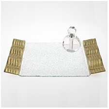 Wave Rectangular Tray
