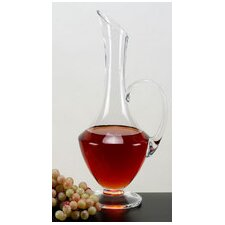 Chiara Footed Wine Carafe