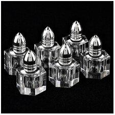 Individual 6 Piece Salt and Pepper Shaker Set
