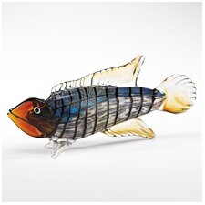 <strong>Badash Crystal</strong> Art Glass Fish Figurine