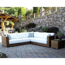 <strong>ElanaMar Designs</strong> Grand Cayman 3 Piece Sectional with Cushions