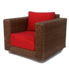 <strong>ElanaMar Designs</strong> Grand Cayman Swivel Chair with Cushions