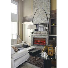"<strong>Dynasty Fireplaces</strong> 55.5"" LED Electric Fireplace Insert"