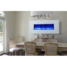 <strong>Dynasty Fireplaces</strong> Miami LED Wall Mount Electric Fireplace