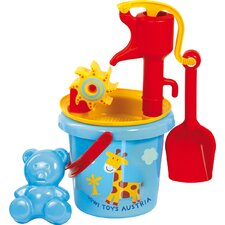 Water Mill Sand Toy with Pump