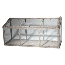 5.9' H x 17.7' W x 8.1' D Cold Frame Greenhouse