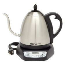 1.05-qt. Gooseneck Variable Temperature Electric Tea Kettle