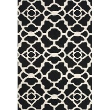 Cetara Black / White Rug