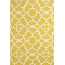 Cetara Yellow / White Rug