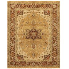 Ustad Gold / Brown Rug