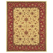Magellan Light Gold / Burgundy Rug