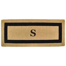 Single Picture Frame Personalized Monogrammed Doormat