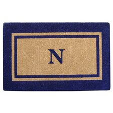 Double Picture Frame Personalized Monogrammed Doormat