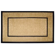 <strong>Creative Accents</strong> DirtBuster Single Picture Frame Doormat