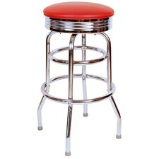 Retro Home Swivel Bar Stool
