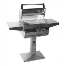 Deluxe Post Mounted Grill