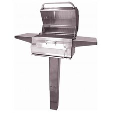 Legacy Post Mounted Charcoal Grill