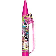 Minnie Bow-tique Giant Tri-fold Art Set