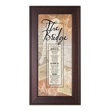 The Bridge Framed Graphic Art