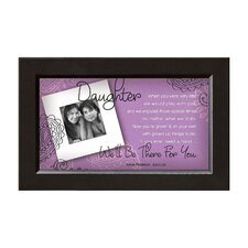 <strong>The James Lawrence Company</strong> Daughter - There for You Framed Wall Art