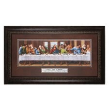 <strong>The James Lawrence Company</strong> The Last Supper the Lord Framed Wall Art