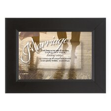 Marriage - A Cord Shadow Box Framed Wall Art
