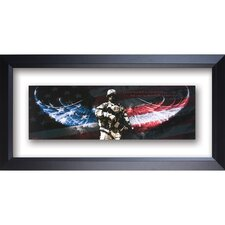 <strong>The James Lawrence Company</strong> Soldier - No Greater Love Double Glass Matted Framed Wall Art