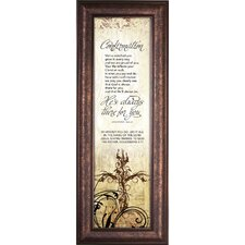 Confirmation - There for You Framed Graphic Art