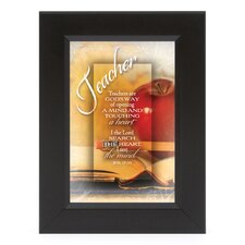 Teacher - I the Lord Shadow Box Framed Wall Art
