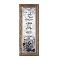 Lord's Prayer Framed Graphic Art