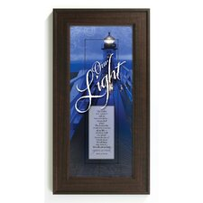 Our Light - The Lord is Framed Graphic Art