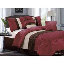 Manderine 6 Piece Comforter Set