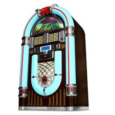 Electrohome® Kinsman™ Jukebox with CD Player, FM Radio, USB & SD Playback and MP3 Input