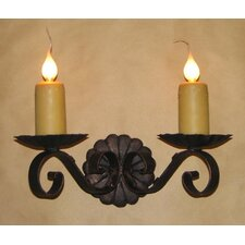 <strong>Laura Lee Designs</strong> Louisiana Double Wall Sconce