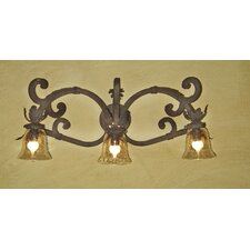 <strong>Laura Lee Designs</strong> Verona Triple Arm Vanity Wall Sconce