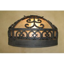 <strong>Laura Lee Designs</strong> Palm Ceiling Dome Flush Mount