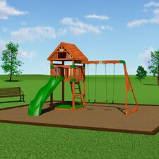 <strong>Backyard Odyssey</strong> Trek Cedar All Cedar Swing Set