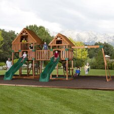 <strong>Backyard Odyssey</strong> Vista Cedar All Cedar Swing Set
