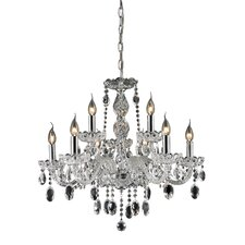 <strong>Nulco Lighting</strong> Balmoral 9 Light Chandelier