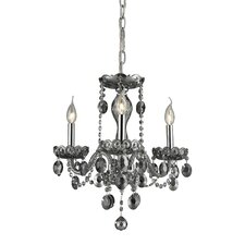 <strong>Nulco Lighting</strong> Balmoral 3 Light Chandelier