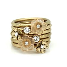 Multi Flower Ring