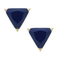 Triangle Cut Stud Earrings