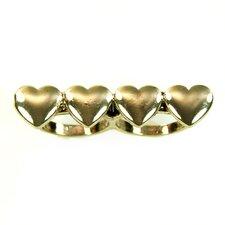 Heart Double Finger Ring